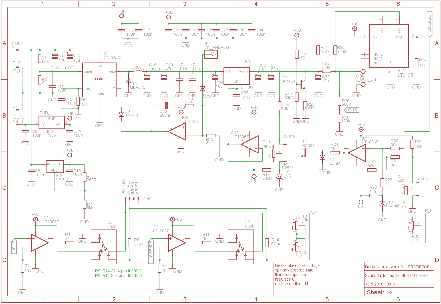 21 Unique Switch Mode Power Supply Schematic Diagram