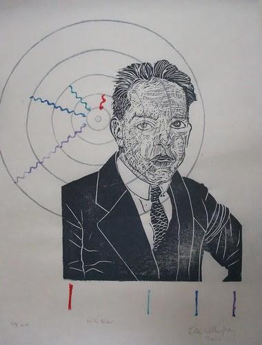 Niels Bohr portrait 4