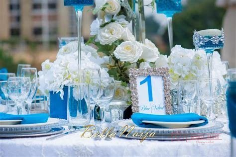 """Spring Fever""   Styled Wedding Shoot in Abuja   Blue"