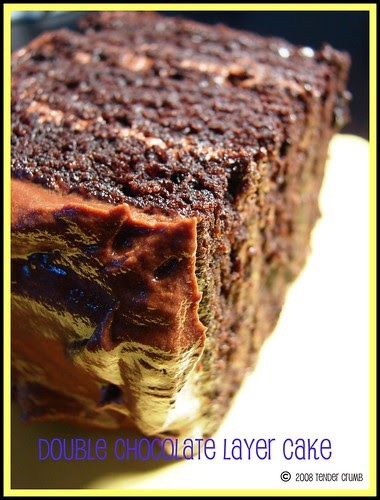 Double Chocolate Layer Cake Recipe Epicurious