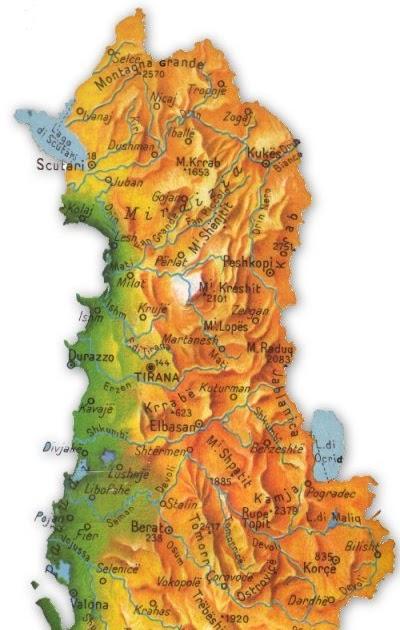 Cartina Albania Fisica.Geografinfesta Albania Con Thinglink E Popplet Elena Alberti Viola Nacci