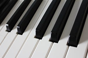 Piano keys picture
