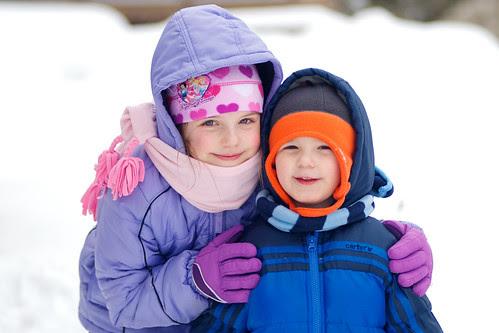 Snow Siblings