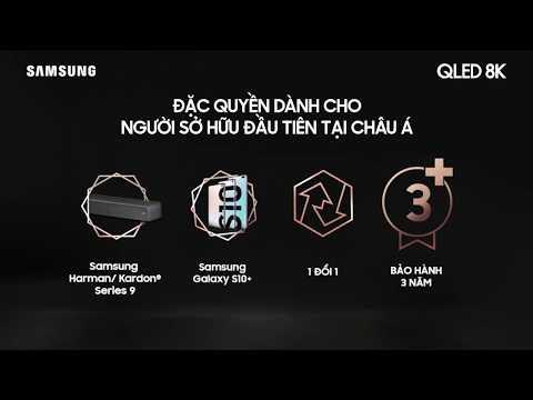 Đặc quyền dành cho người sở hữu QLED 8K đầu tiên tại châu Á