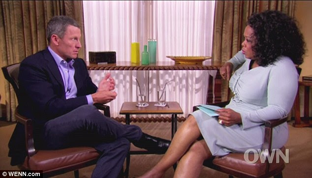 WInfrey had less than a week to prepare for the important interview with Armstrong.