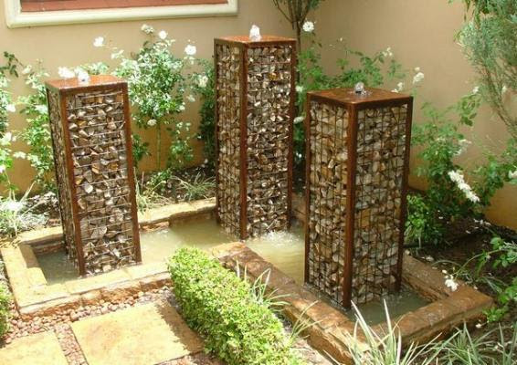 Gabion Water Feature