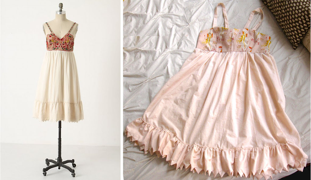daria souvorova not anthro dress