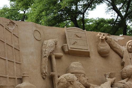 Escultura de areia - Haia - 2010