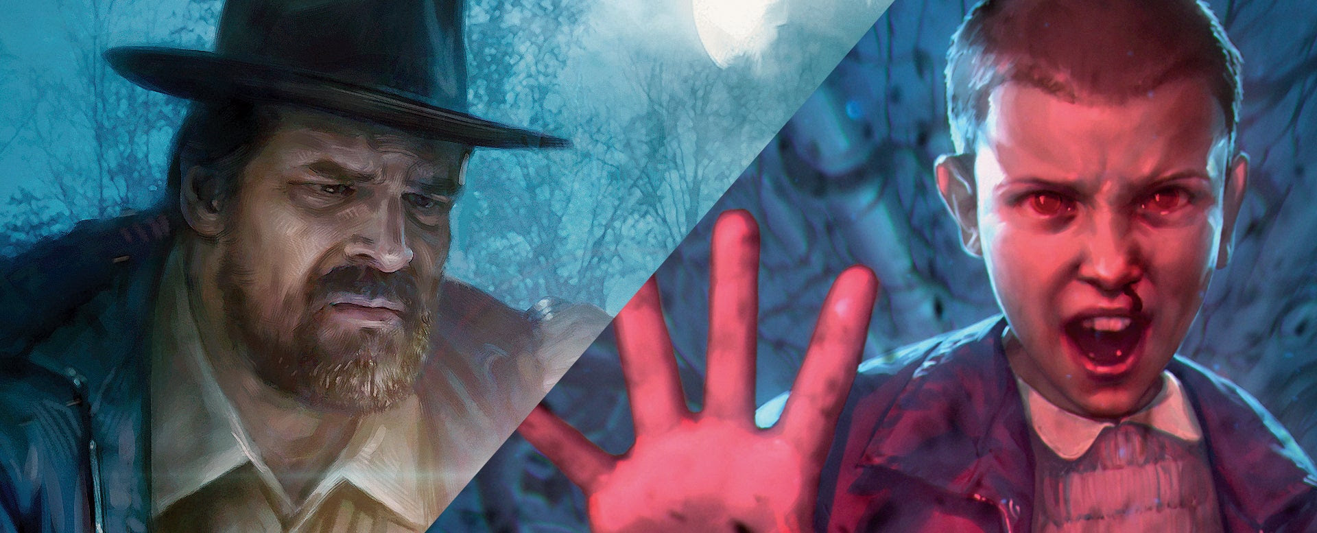 Exclusive: Stranger Things' Hopper and Eleven Magic: The Gathering Cards Revealed
