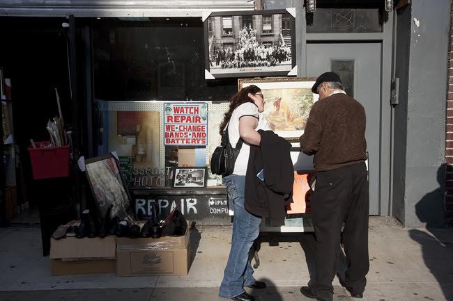Sidewalk Sale, East Village