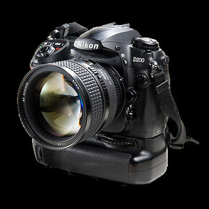 Nikon D200 with vertical grip