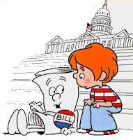 Lots of bills sitting on Capitol hill