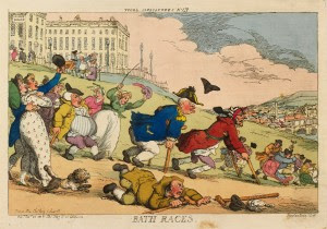 High Spirits - The Comic Art of Thomas Rowlandson @ The Holburne Museum