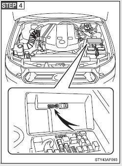 Toyota Tacoma Owners Manual Checking And Replacing Fuses Do It Yourself Maintenance When Trouble Arises