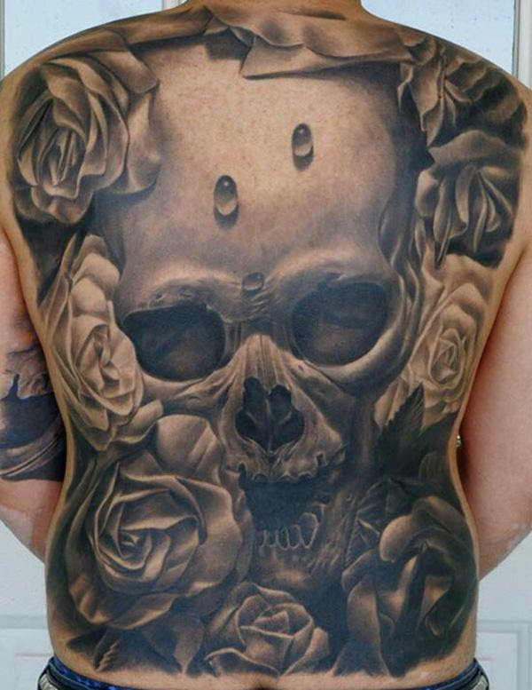 Side View Of Tribal Skull Tattoo Free Design Ideas Dr Flash