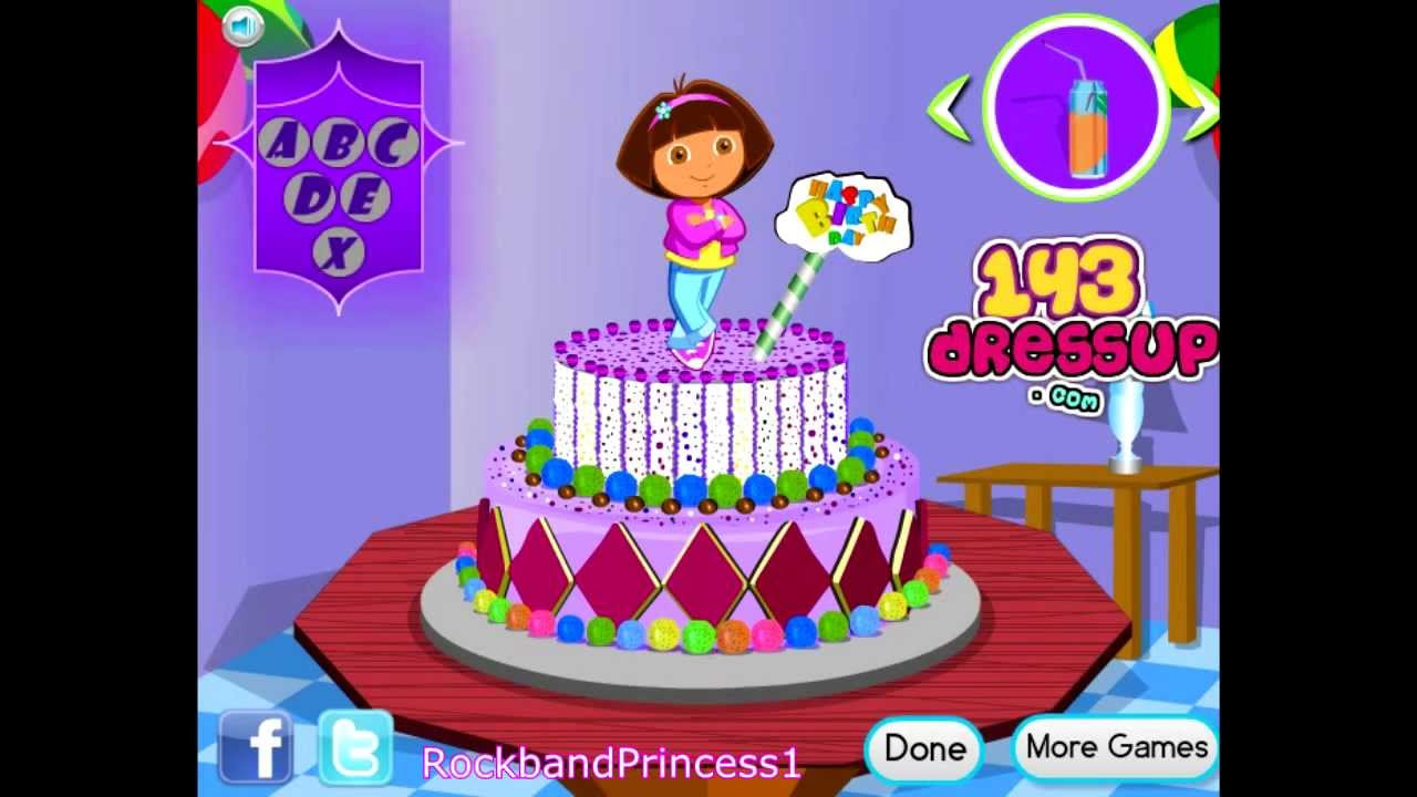 Vincy Cooking Rainbow Birthday Cake Cooking Games