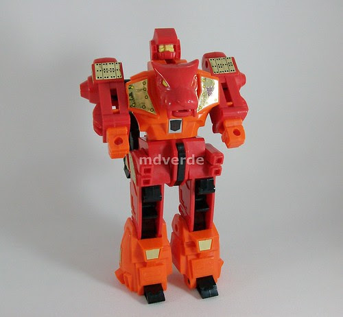 Transformers Rampage G1 - modo robot (by mdverde)