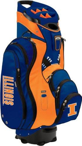 Sun Mountain Collegiate C-130 Cart Bag Illinois Fighting Illini