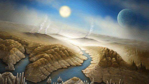 Kepler 452b artist impression