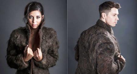 áo khoác, lông ngực, đàn ông, đặc biệt, dị thường