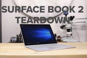 Microsoft Surface Book 2 Teardown