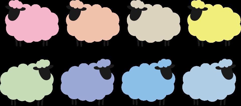 ひつじ羊イラスト 無料イラストフリー素材
