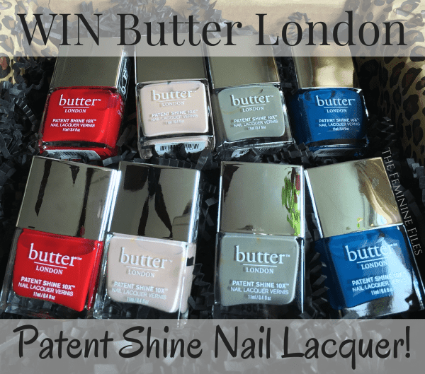 WIN Butter London Patent Shine Nail Lacquer! Ends 5/11