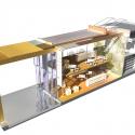 Pontivy Media Library / Opus 5 architectes Rendering