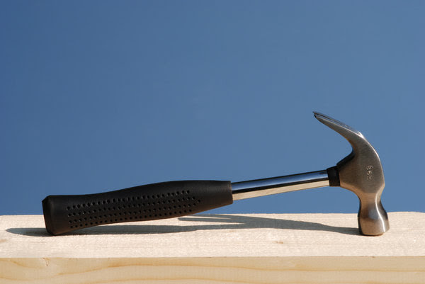 Hammer 1: Hammer on pinewood plank series.