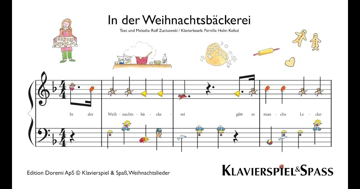 weihnachtslieder für klavier anfänger kostenlos  meine