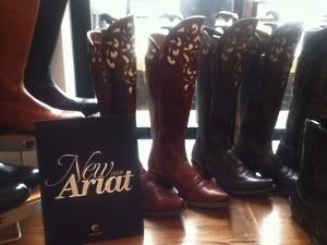 Ariat Fall 2012 Footwear