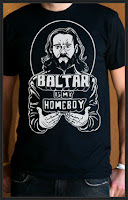 Battlestar Galactica - Gaius Baltar Is My Homeboy T-Shirt