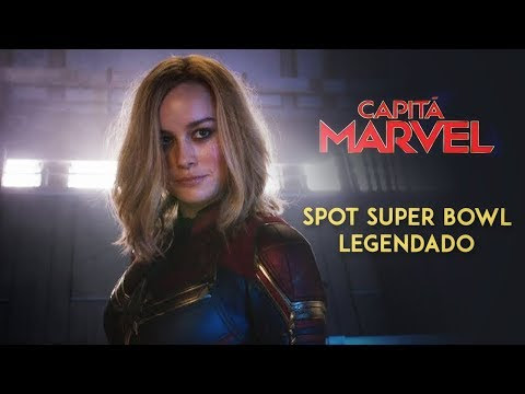 CAPITÃ MARVEL Vai Mais Alto, Mais Rápido no Novo Trailer do Super Bowl