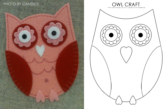 7 Best Images of Free Printable Owl Crafts Templates - Printable ...