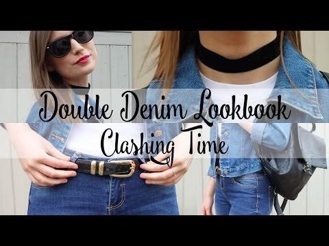 Clashing Time: Double Denim Lookbook