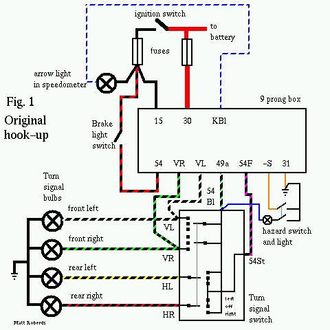 67 Beetle Flasher Relay Wiring Diagram - Wiring Diagram ...