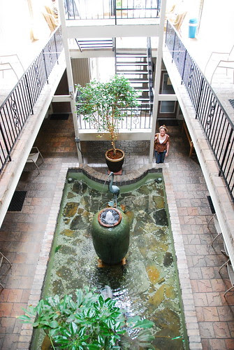 the courtyard at 519 frenchman