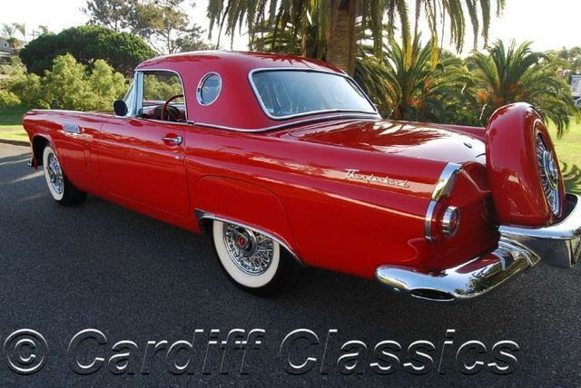 1956 Ford Thunderbird Roadster - Click to see full-size photo viewer