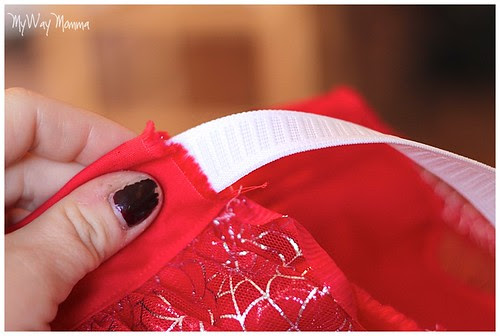 MWM Red 2 tier Halloween Skirt Oct 2012 12