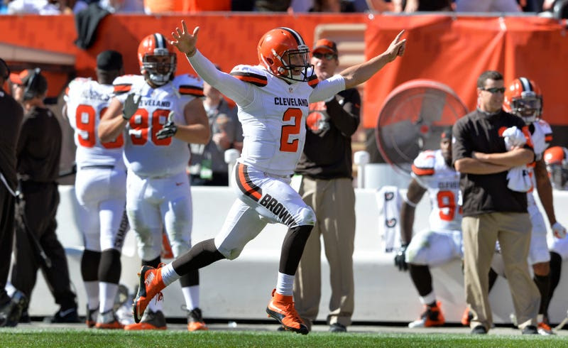 Browns Send Johnny Manziel Back To The Bench, For Some Reason