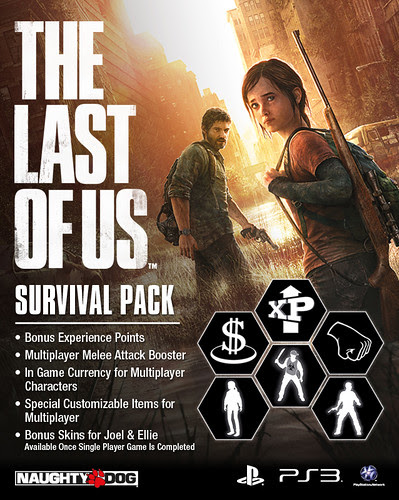 Bonus experience points for multiplayer, A multiplayer melee attack booster, Some extra starting in-game cash, Special customizable character items for multiplayer, Two special bonus skins for Joel and Ellie which will be unlocked after your complete the single player campaign