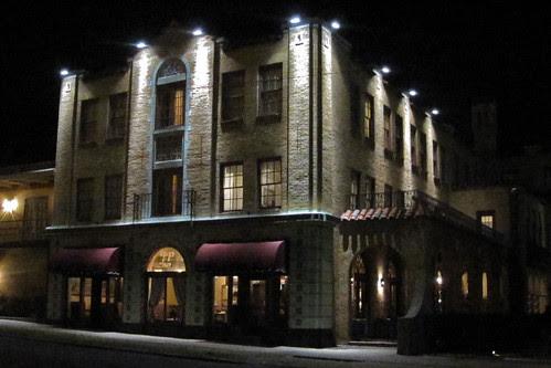 Hotel Seville at Night