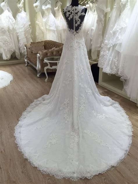 2016 Spanish Style Lace Wedding Dresses Made In China