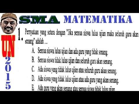 Pembahasan Soal UN Matematika SMA IPA 2015 (Playlist Lengkap 40 Soal)