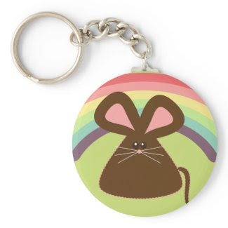 Kawaii Mouse Key Chain keychain