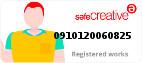 Safe Creative #0910120060825