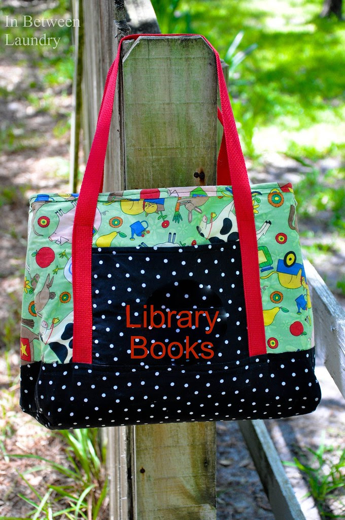 Tutorial Library Book Tote Bag