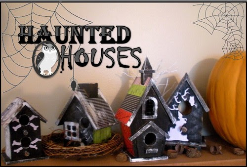 Haunted Houses by jannypie