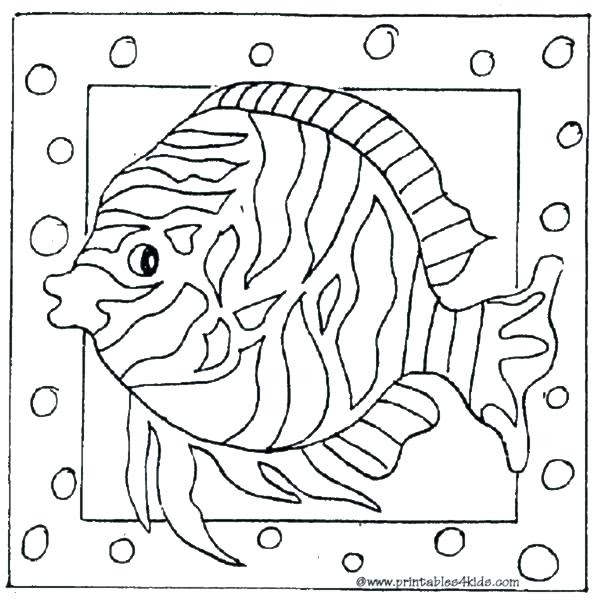Exotic Fish Coloring Pages at GetColorings.com   Free ...