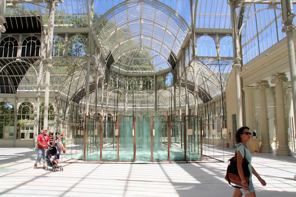 Visitando el Palacio de Cristal de El Retiro
